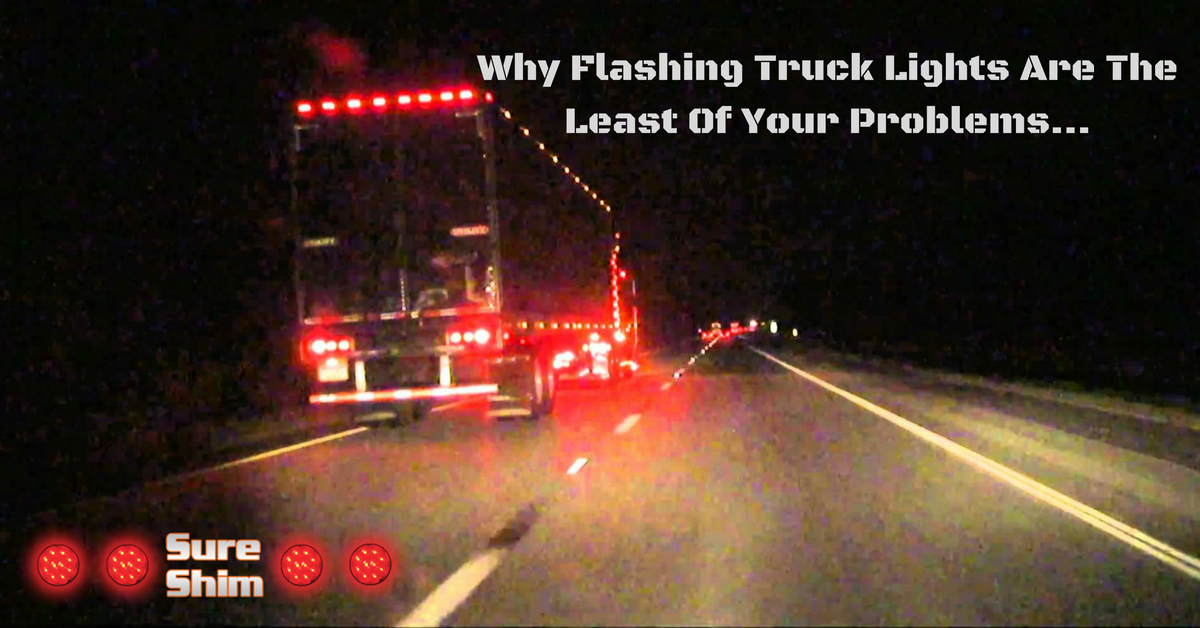 Why Flashing Lights Are the Least of Your Truck and Trailer Issues